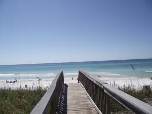 Boardwalk on the beach